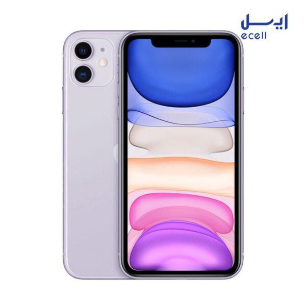 گوشی موبایل اپل مدل iPhone 11 ظرفیت 256 گیگابایت - رم 4 گیگابایت