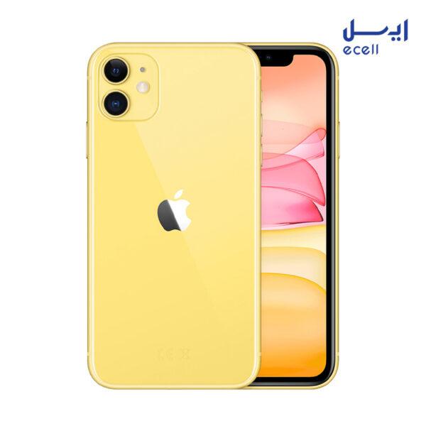گوشی موبایل اپل مدل iPhone 11 ظرفیت 64 گیگابایت - رم 4 گیگابایت