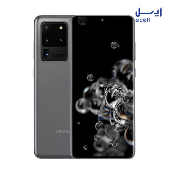 گوشی موبایل سامسونگ s20 Ultra ظرفیت 128گیگابایت - رم 12گیگابایت
