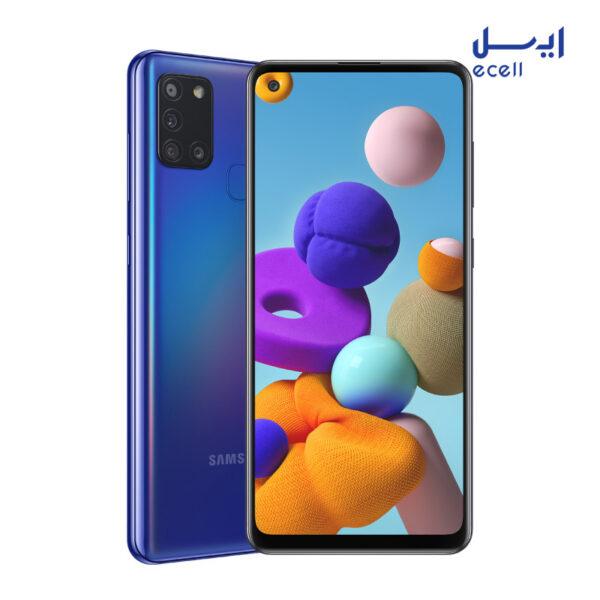 گوشی موبایل سامسونگ مدل Galaxy A21s ظرفیت 64 گیگابایت - رم 4 گیگابایت