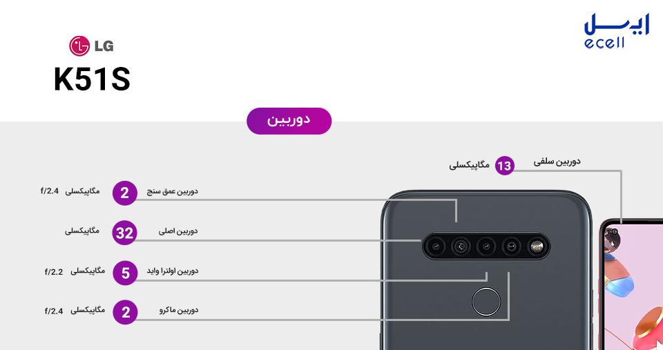 گوشی LG K51s