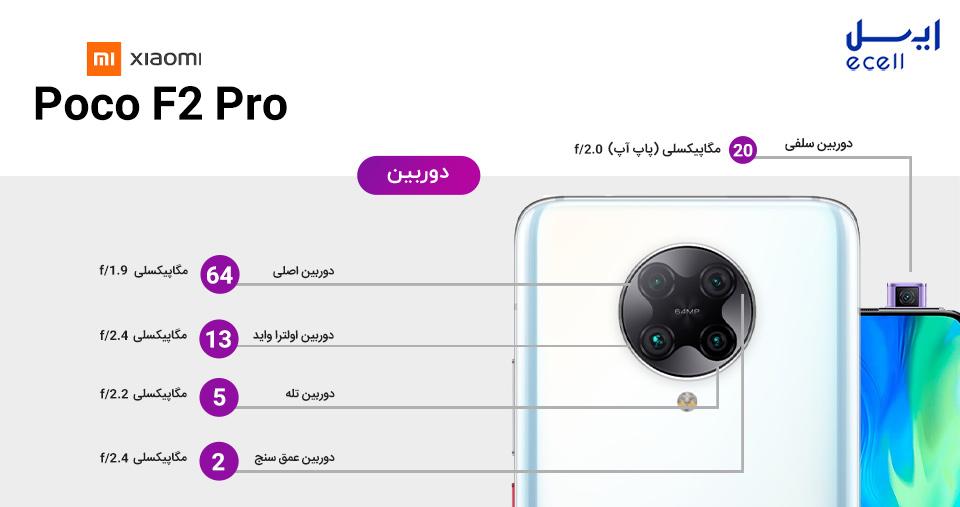 دوربین پوکو اف 2 پرو - Poco F2 Pro