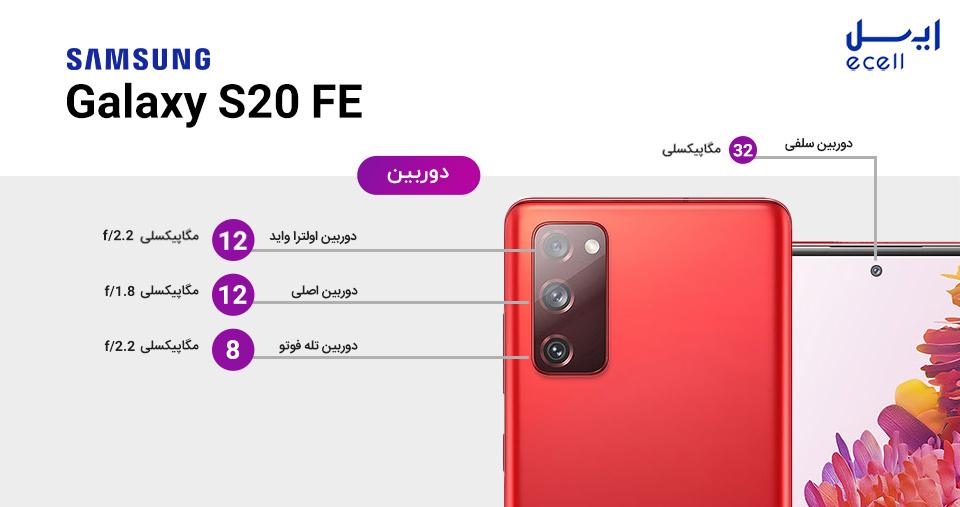 دوربین Samsung S20 FE