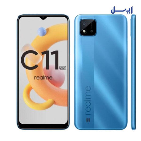 گوشی موبایل Realme C11 2021 ظرفیت 32 گیگابایت -  رم 2 گیگابایت