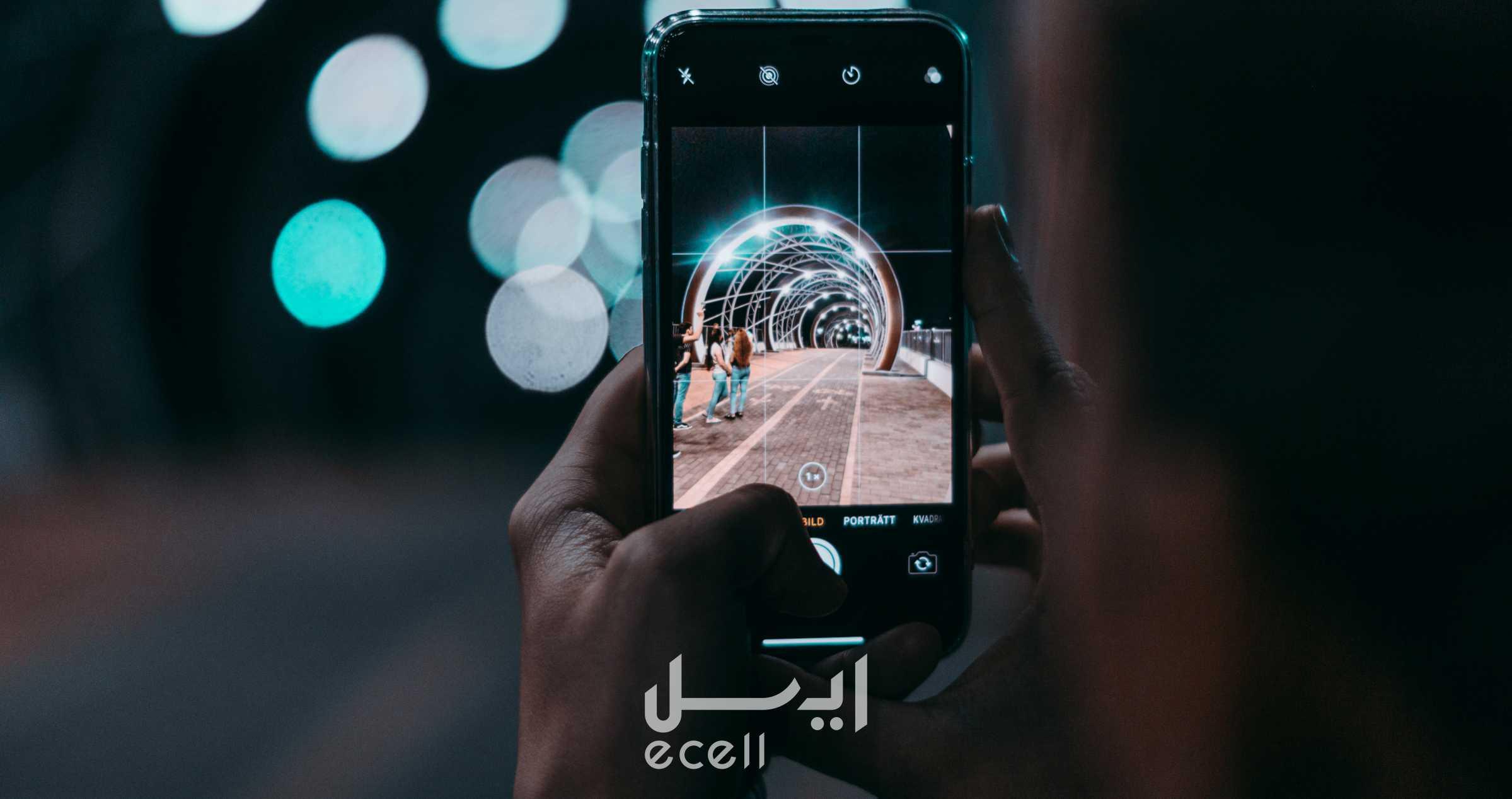 فاصله کانونی دوربین گوشی موبایل