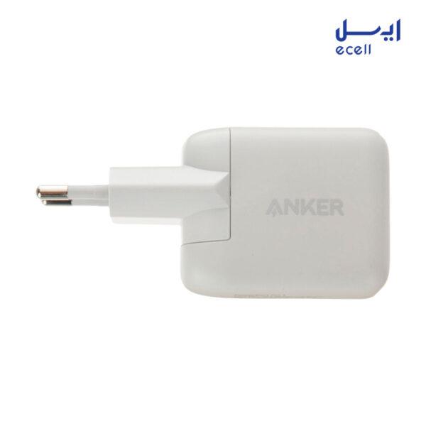 شارژر دیواری انکر مدل B2019 به همراه کابل تبدیل USB-C به لایتنینگ