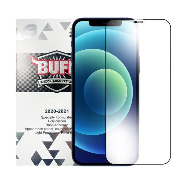 محافظ صفحه نمایش 5D بوف مناسب برای گوشی موبایل آیفون 12pro