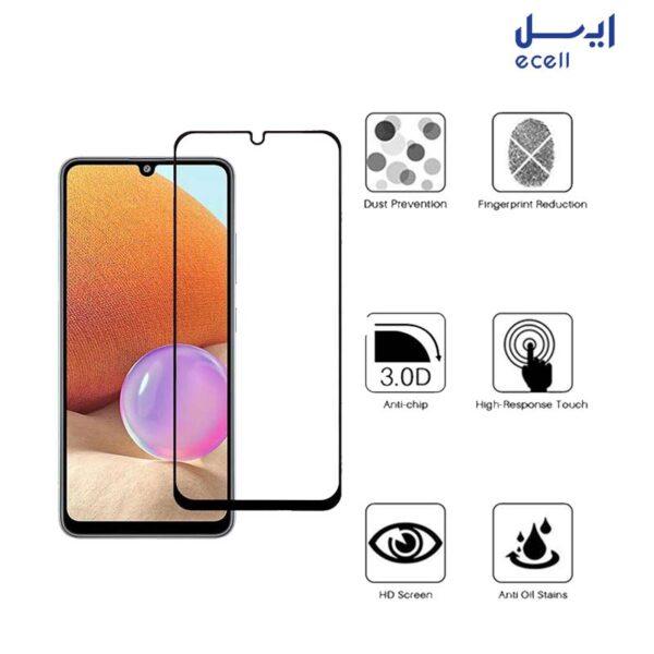 محافظ صفحه نمایش سرامیکی بوف مدل مناسب برای گوشی موبایل سامسونگ galaxy A32 4G