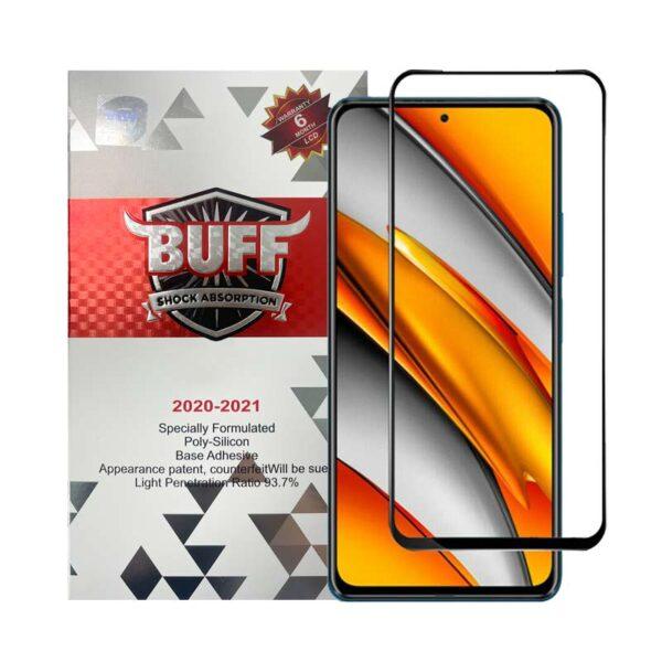 محافظ صفحه نمایش 5D بوف مدل مناسب برای گوشی موبایل شیائومی Poco F3